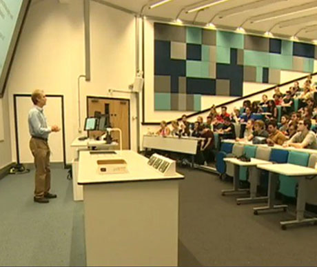 Cardiff University Lecture Theatres