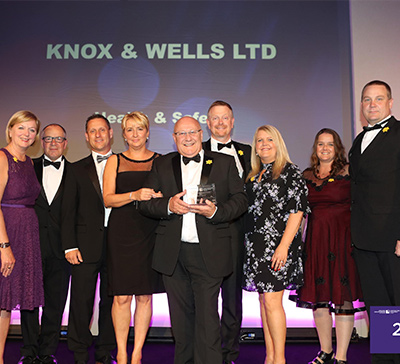 Knox & Wells Win Constructing Excellence Wales Health, Safety & Wellbeing Award 2017