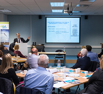 K&D MD is Guest Speaker at Ethical Employment in Supply Chains Event